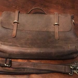 Handbags - 🛍🎀SALE!!! All must go!🎀 Brown leather briefcase